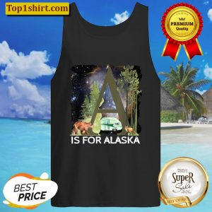 Alaska Adventure Camping Dreams Camper Exploring Wild North Tank Top