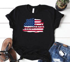 American Flag Fourth Of July Freedom Shirt