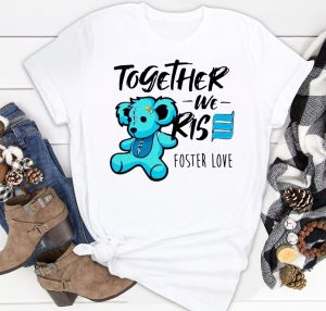 Bear together we rise foster love Classic Shirt