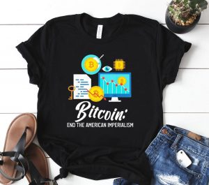 Bitcoin End The American Imperialism Classic Shirt