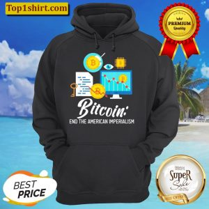 Bitcoin End The American Imperialism Unisex Hoodie