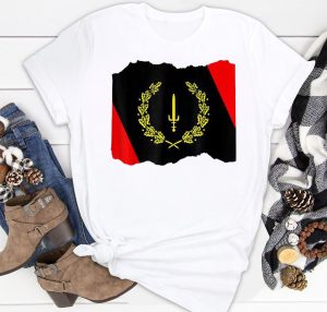 Black American Heritage Flag 1967 Shirt