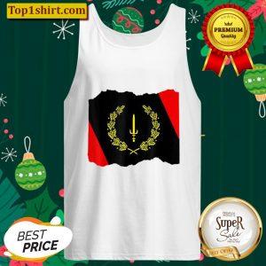 Black American Heritage Flag 1967 Tank Top
