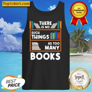 Book Reader Reading Lover Gift Tank Top