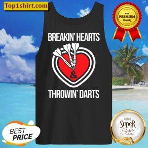 Funny Mens Darts Gift For Amateur Pub Bar Game Dart Players Tank Top