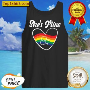 Gay Couple Gifts Matching Lgbt Shes Mine Gay Pride Pullover Tank Top