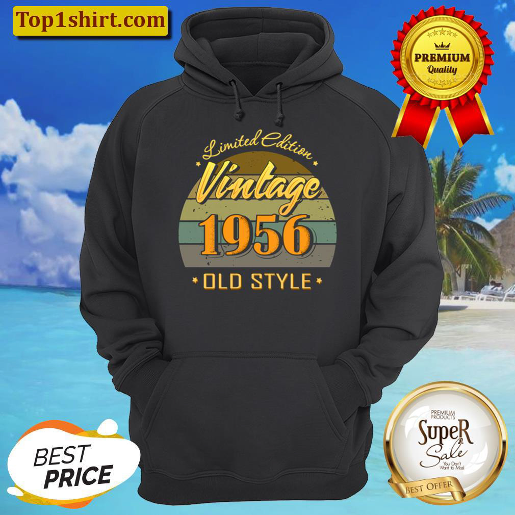 Gift 65 year old 65th birthday decorations 1956 vintage Hoodie