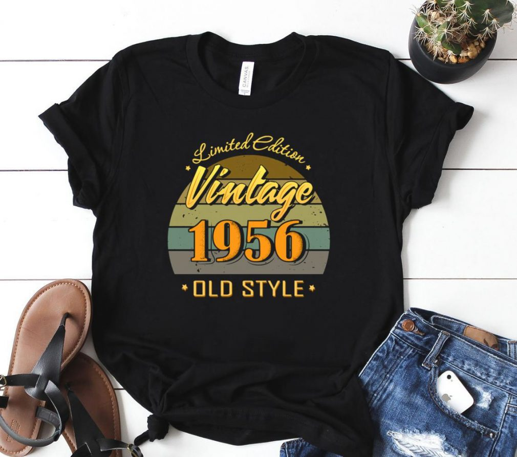 Gift 65 year old 65th birthday decorations 1956 vintage Shirt