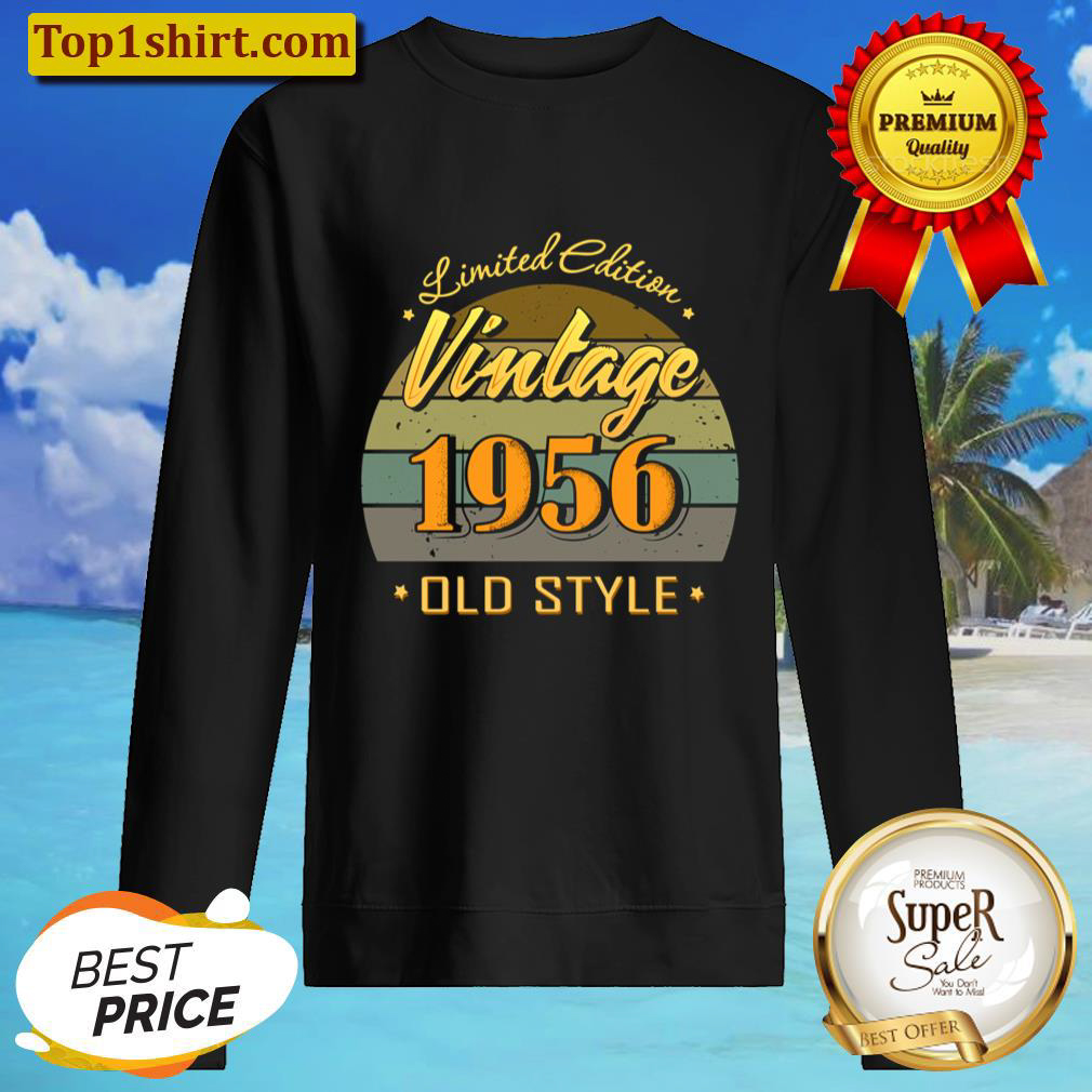 Gift 65 year old 65th birthday decorations 1956 vintage Sweater