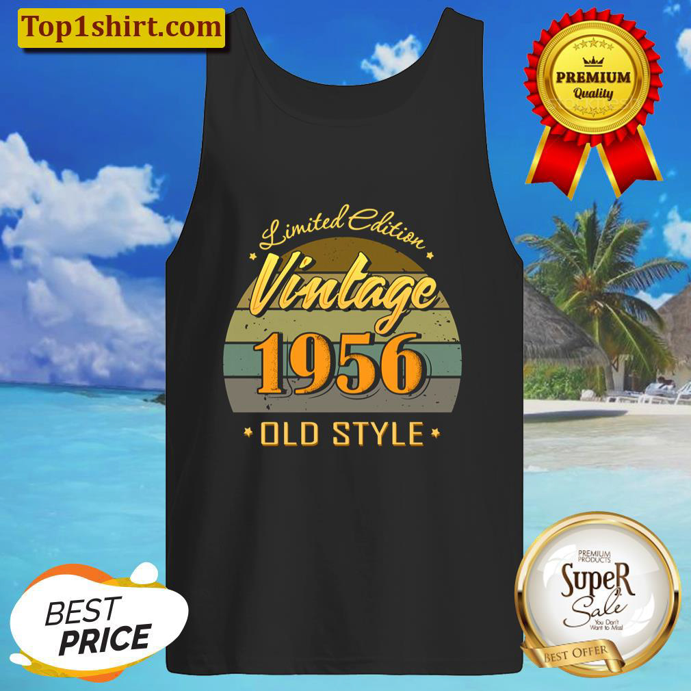 Gift 65 year old 65th birthday decorations 1956 vintage Tank Top