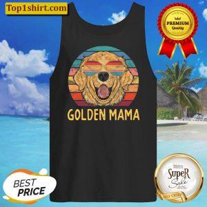 Golden Dog Mama Gifts Golden Retriever Mama Tank Top