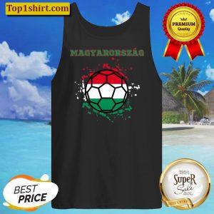 Hungary Soccer Hungarian Flag Fan Jersey Tank Top