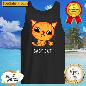 Katze Shirt Baby Cat Tank Top