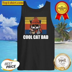 Mens Best Cat Dad Ever Cat Daddy Gift Tank Top