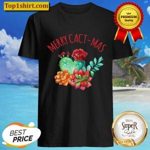 Merry Cact-Mas, Succulent, Merry Cactus Christmas Raglan Baseball Tee Shirt