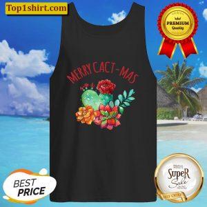 Merry Cact-Mas, Succulent, Merry Cactus Christmas Raglan Baseball Tee Tank Top