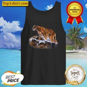 Mountain Lion Cougar Puma Wildcat Panther Tank Top