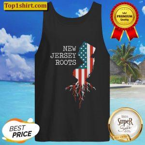 New Jersey Root Vintage American Flag Men Women Gifts Tank Top