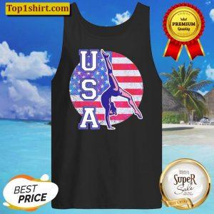 USA Gymnast American Flag Tank Top
