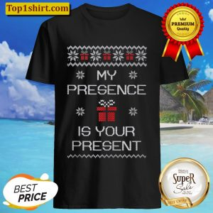 Ugly Christmas Sarcastic Graphic Present Gift Funny Quote Shirt
