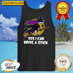 Witch Unicorn yes I can drive a stick Tank Top