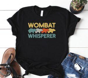 Wombat Whisperer Lover Retro Shirt
