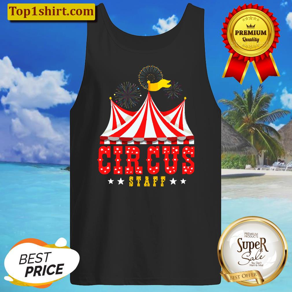Circus Staff Party Retro Vintage Carnival Outfit Women T-shirt