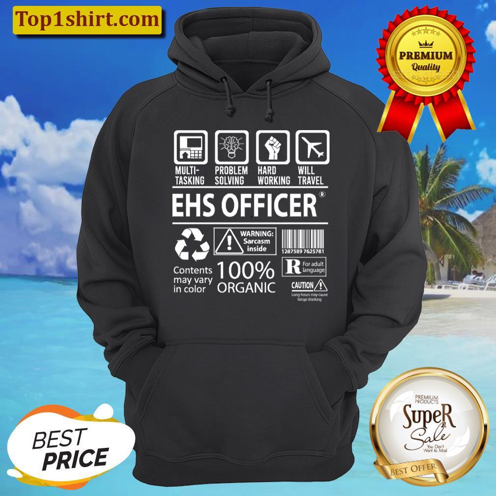 ehs officer t multitasking certified job gift item tee unisex hoodie