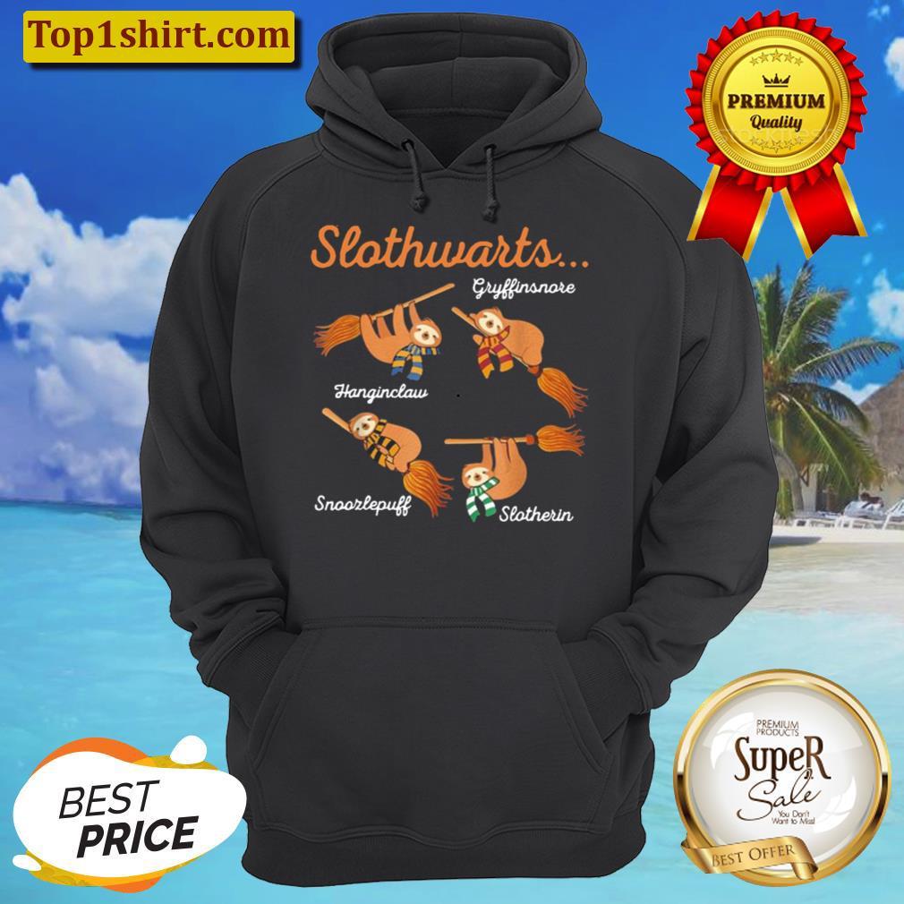 harry slothwarts happy halloween 2021 unisex hoodie