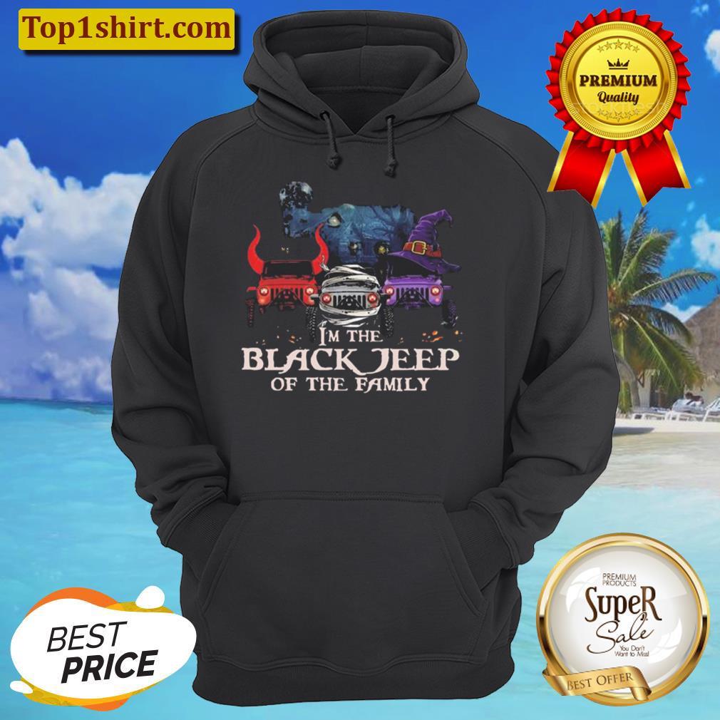 im the black jeep of the family happy halloween unisex hoodie