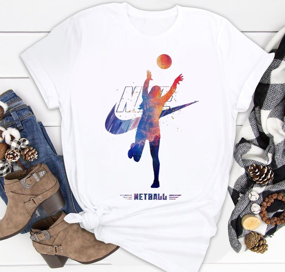 netball nike logo classic shirt