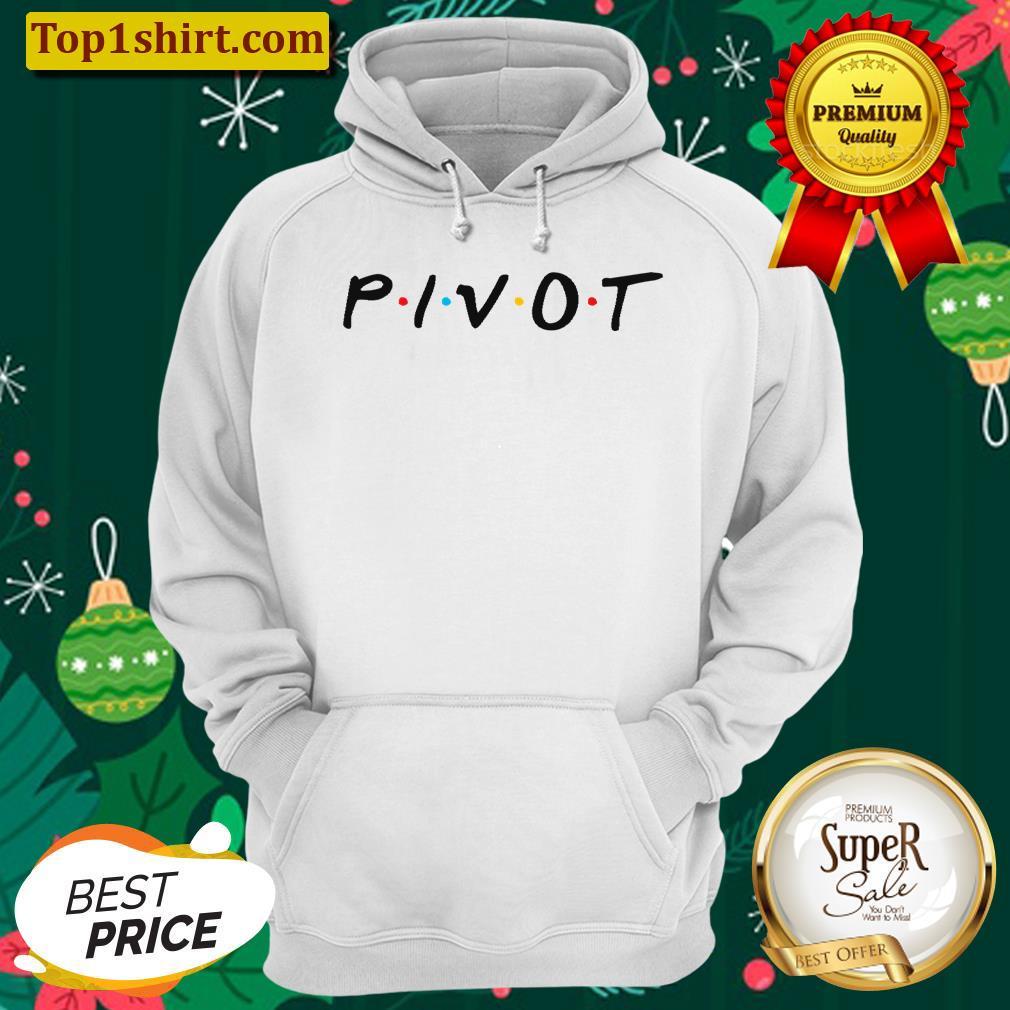 pivot friends style unisex hoodie