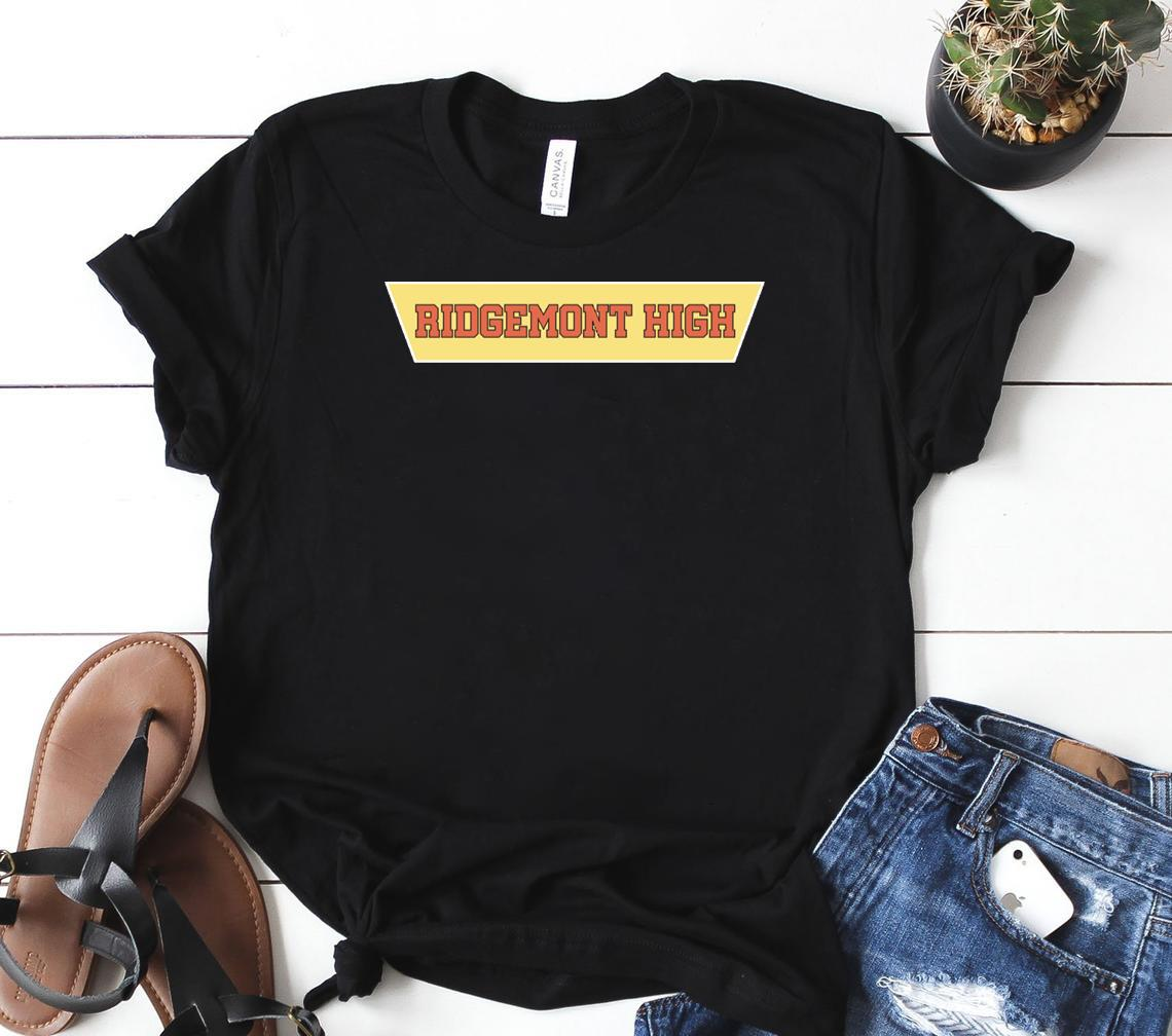 ridgemont high logo merch classic shirt