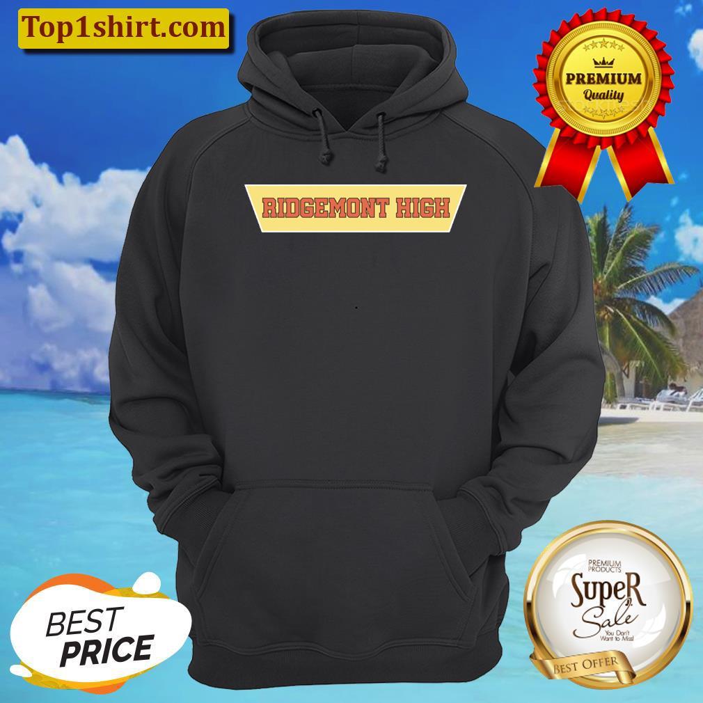 ridgemont high logo merch unisex hoodie