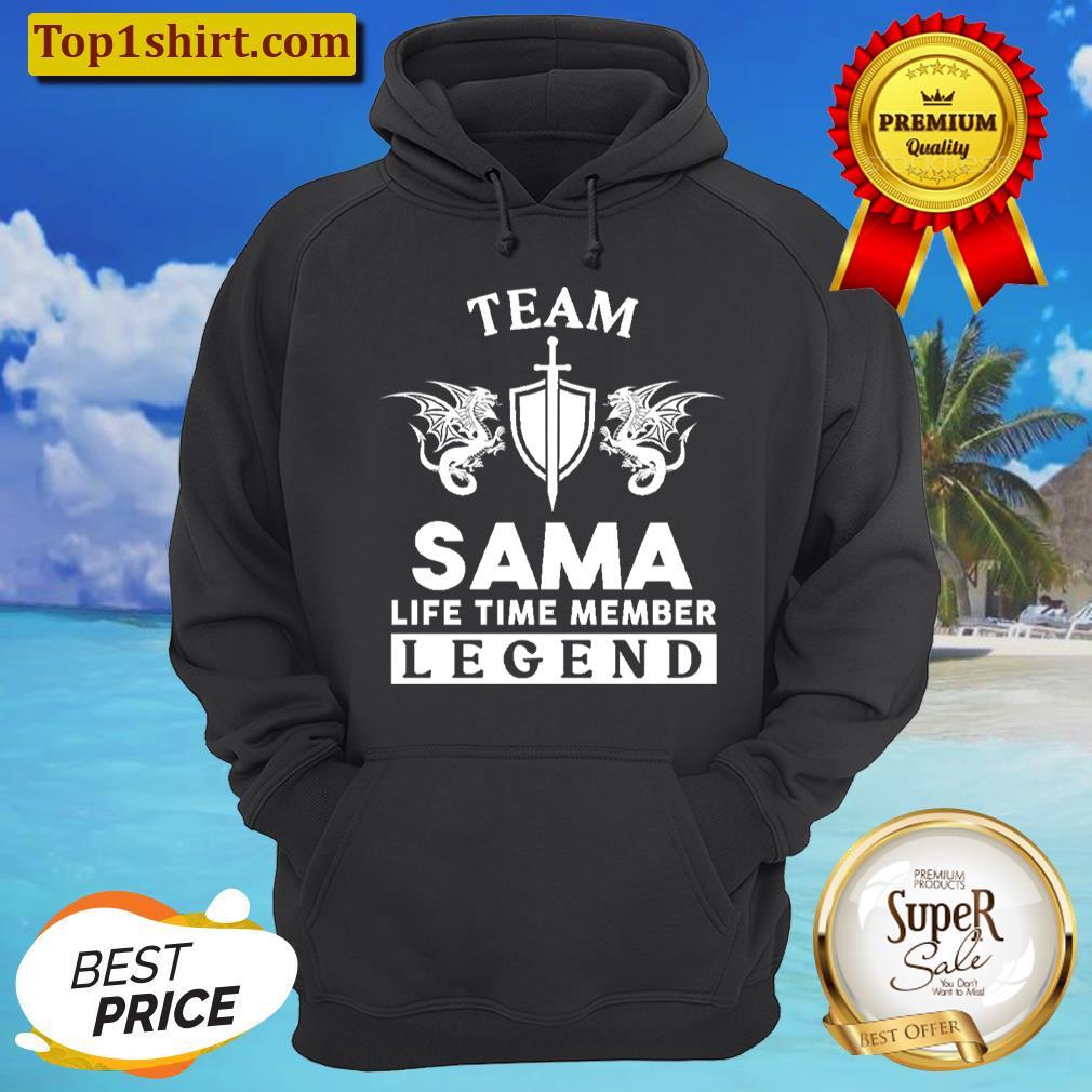 sama name t sama life time member legend gift item tee unisex hoodie