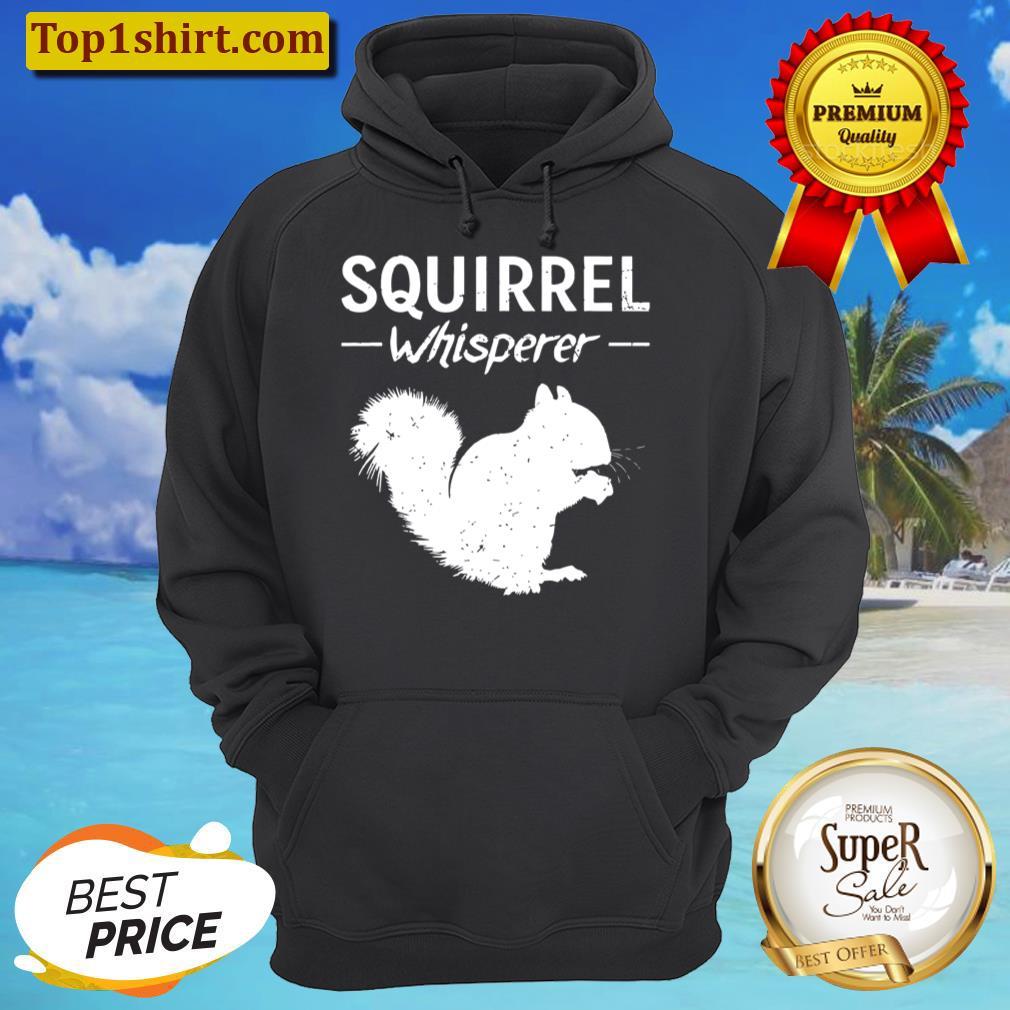 squirrel whisperer squirrel unisex hoodie