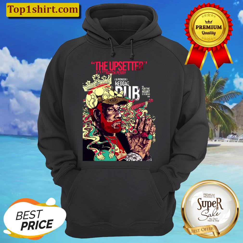 the upsetter ice scratch perry unisex hoodie