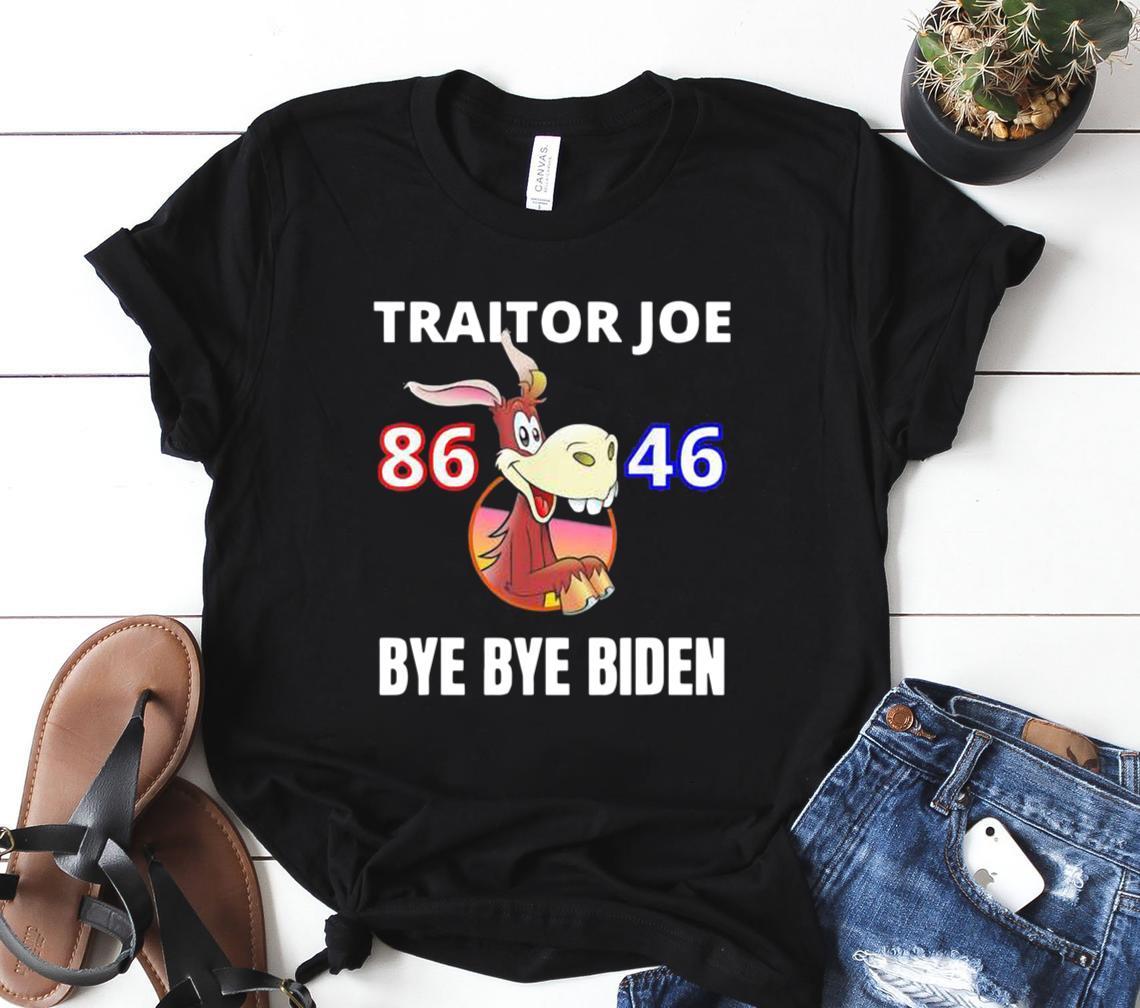 traitor joe biden sucks 86 46 impeach idiot joe biden classic shirt