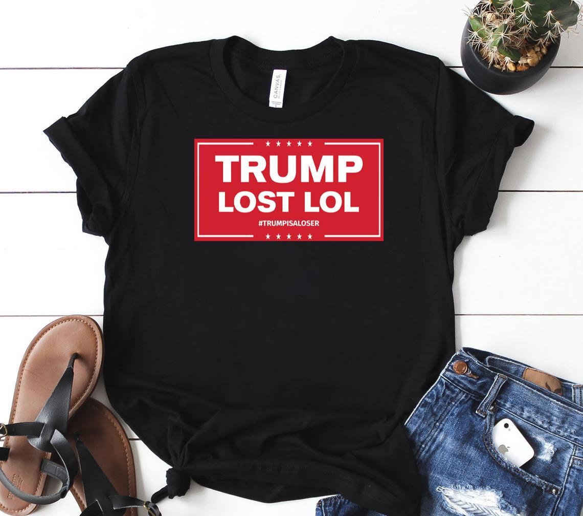 trump lost lol hoodie classic shirt