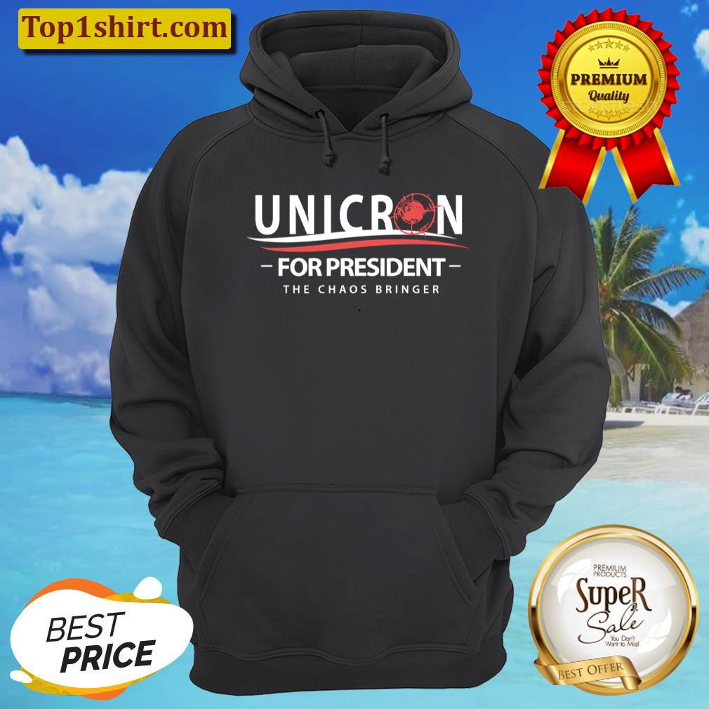 unicron for president the caos bringer hoodie unisex hoodie